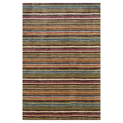 Tufted Wool Hand Woven Area Rug Rug Size: 5 x 8