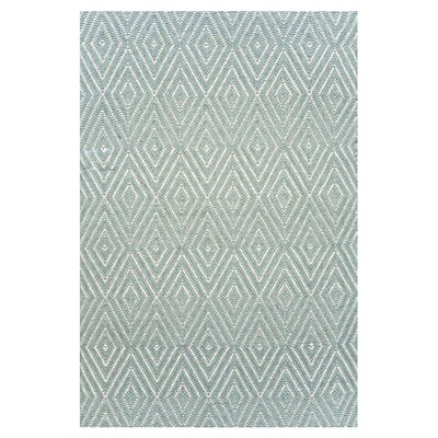 Hand Woven Blue Area Rug Rug Size: 2 x 3