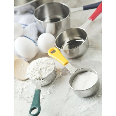 4-Piece Stainless Steel Measuring Cup Set 4839