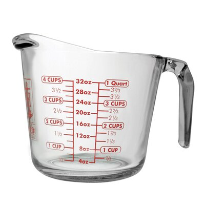 Anchor 3 Piece Glass Measuring Cup Set 77940