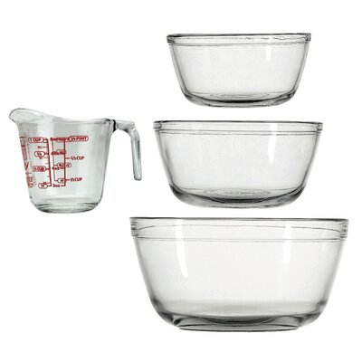 Anchor 4 Piece Glass Measuring Set 77994