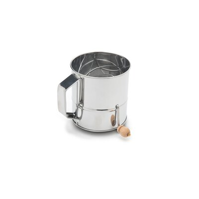 Stainless Steel Crank Sifter (3 Cups) 4638
