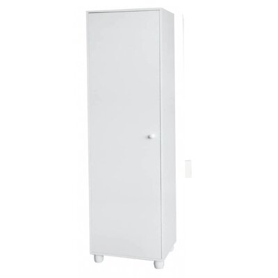Hazelwood Home One Door Storage Cabinet in White at Sears.com