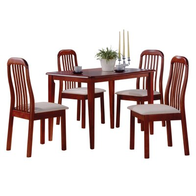 No credit financing Timber 5 Piece Dining Set...