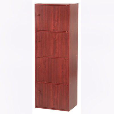 Hazelwood Home Four Door Utility Cabinet - Finish: Mahogany at Sears.com