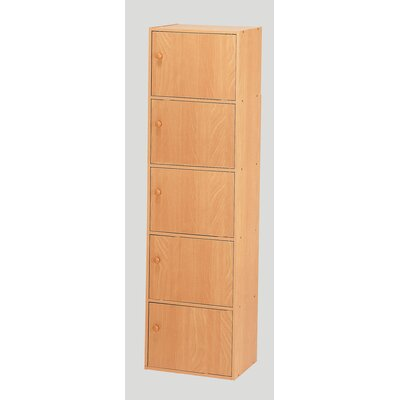 Hazelwood Home Five Door Utility Cabinet in Beech at Sears.com
