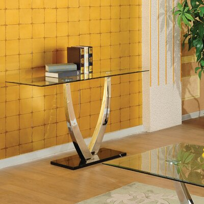 Cheap Hazelwood Home Hazelwood Home Modern Sofa Table in Iron (HMC1956)