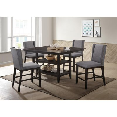 Wallach 5 Piece Pub Table Set