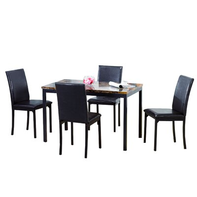 Lease to own 5 Piece Dining Set...