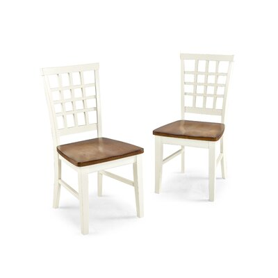 Arlington Side Chair (Set of 2) Chair Finish: White