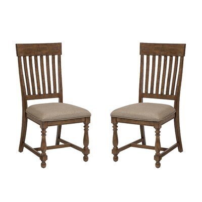 Rhone Slat Back Side Chair (Set of 2)