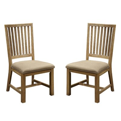 Sebastian Slat Back Side Chair (Set of 2)