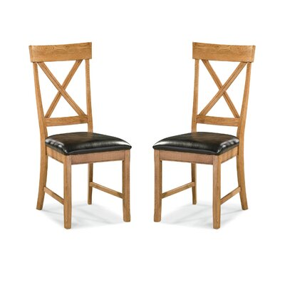 Family Dining X-Back Side Chair (Set of 2)
