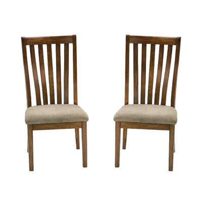 Highland Park Slat Back Side Chair (Set of 2)