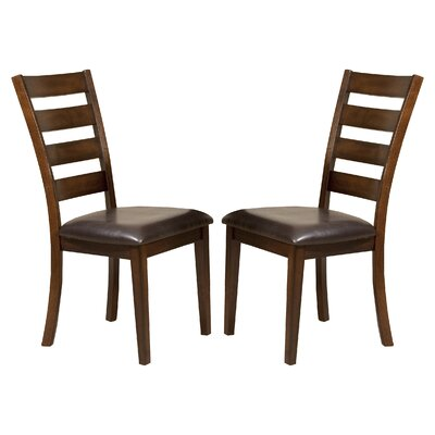 buy kona ladder back side chair set of 2 dining room side chair