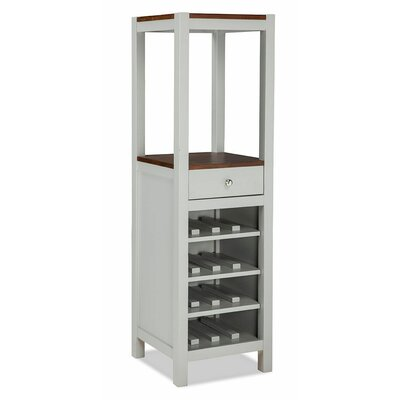 Small Space 16 Bottle Floor Wine Cabinet