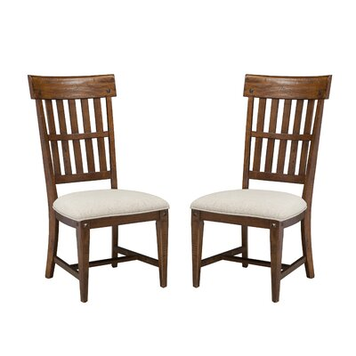Wolf Creek Slat Back Side Chair (Set of 2)
