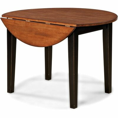 Arlington 42 Drop Leaf Table Table Finish: Black
