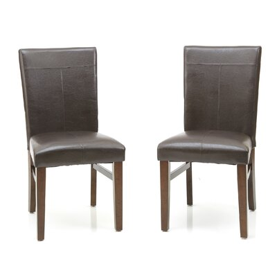 Kona Parsons Solid Wood Dining Chair (Set of 2)