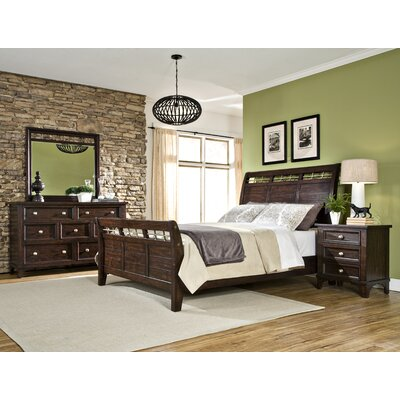Haven Sleigh Customizable Bedroom Set