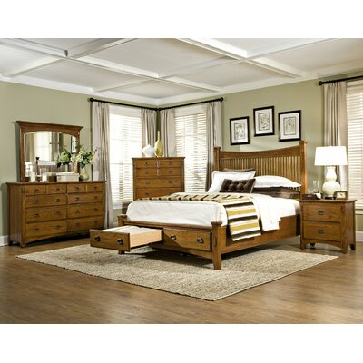 Pasilla Platform Configurable Bedroom Set