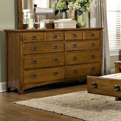 Pasilla 8 Drawer Standard Dresser