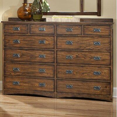 Oakhurst 12 Drawer Standard Dresser