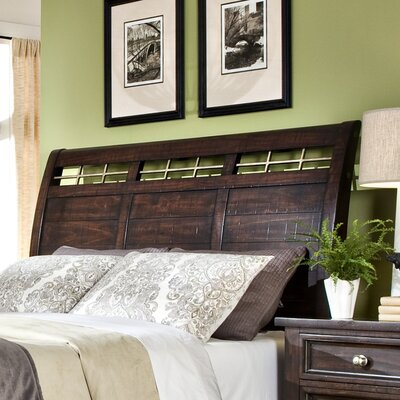 Haven Sleigh Headboard Size: King