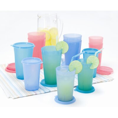 24 Piece Tumbler And Lid Set