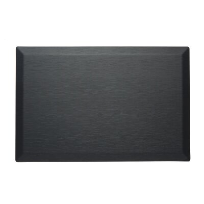CumulusPro Professional Series Couture Strata Anti-Fatigue Comfort Doormat Color: Black Jasper