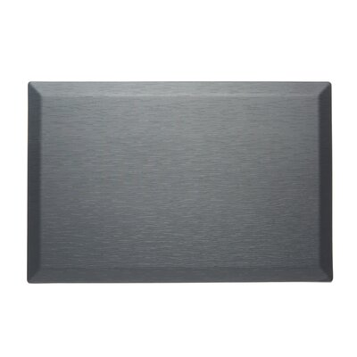 CumulusPro Professional Series Couture Strata Anti-Fatigue Comfort Doormat Color: Slate Gray