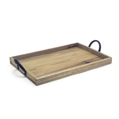 Rustic Wood Serving Tray (Set of 2)