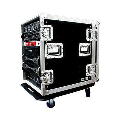Road Ready Deluxe Amplifier Rack System Case with Caster Board - Size: 14U at Sears.com