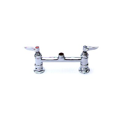 Centerset Faucet with Swing Spout