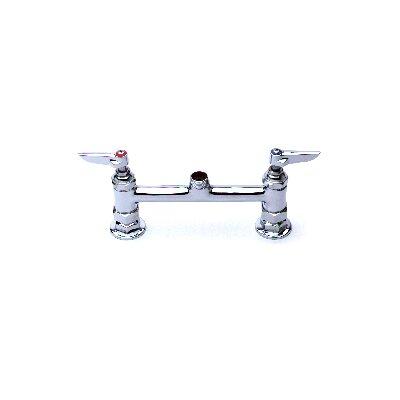 Centerset Faucet with Swing Spout