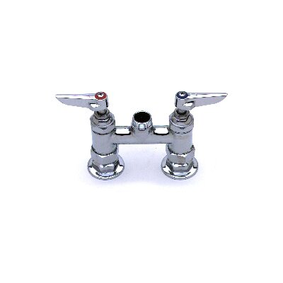 Deck Mount Centerset Faucet with Swing Spout