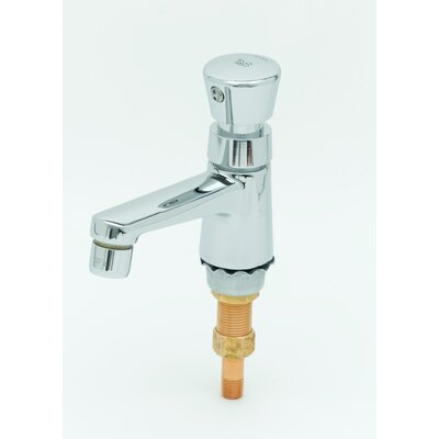 Single Hole Metering Faucet with Single Push Handle