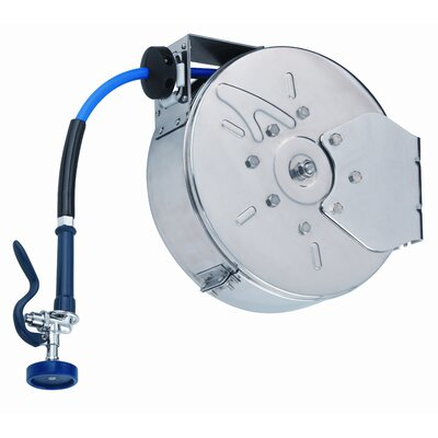 Enclosed Hose Reel Stainless Steel