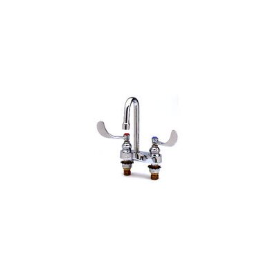 Centerset Medical Bathroom Faucet with Cold and Hot Handles