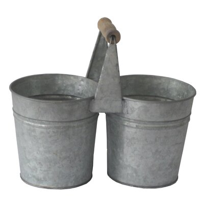 Metal Double Holder Pot Planter FP-3607L