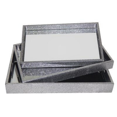 Spackle Mirror 3 Piece Accent Set