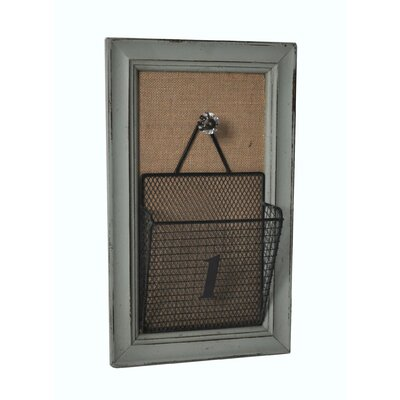 Wire Wall Storage on Wooden Decorative Frame