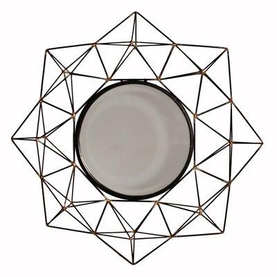 Metal 3d Framed Mirror