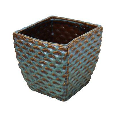 Monarrez Ceramic Pot Planter Size: 5