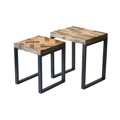 Callowhill 2 Piece Panel Nesting Table