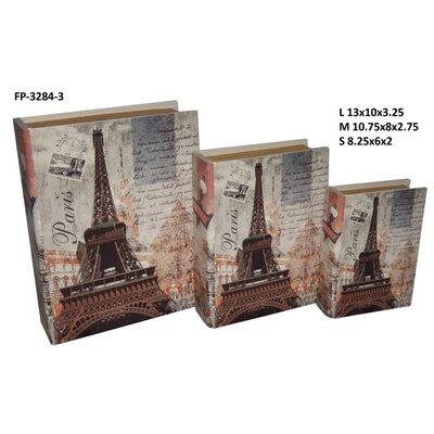 Paris / Eiffel Tower Book Box