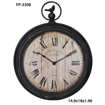 "14"" Pocket Watch Wall Clock FP-3308"