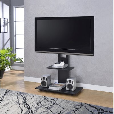 Syverson 31.75 TV Stand with Mount Color: Black