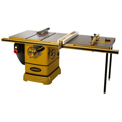 "Powermatic PM2000, 3HP 1PH Table Saw with 50"" Accu-Fence System - Rout-R-Lift: Without Rout-R-Lift at Sears.com"