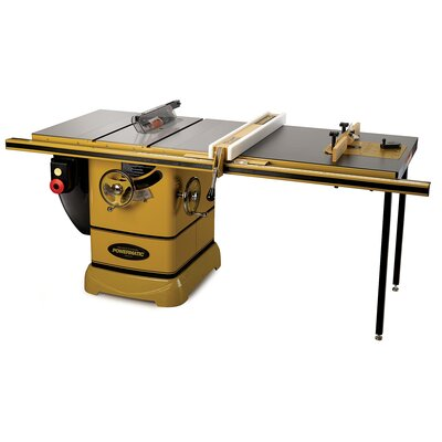 "Powermatic PM2000, 5HP 1PH Table Saw with 50"" Accu-Fence System - Rout-R-Lift: Without Rout-R-Lift at Sears.com"